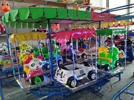 meja pasir kinetik kereta panggung mini odong komplit oscar 11