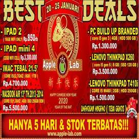 PROMO IMLEK IPAD MINI 4 SECOND MURAH WIFI ONLY