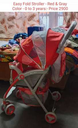 BRAND NEW- Stroller or Pram (0 to 3 years)