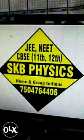 Physics tuition/faculty