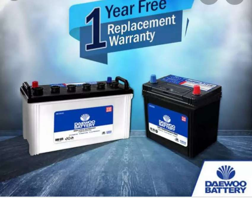 ALL Car New Batteries available Free Home delivery.