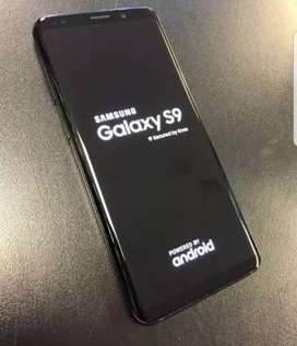 Samsung s9 new condition