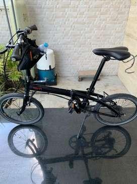Dijual murah sepeda lipat, TERN link P9, nego sampai deall, mulussss