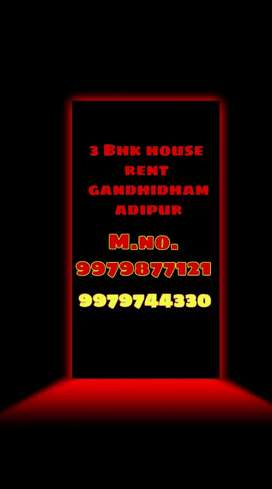 3bhk house rent adipur ward 5a area