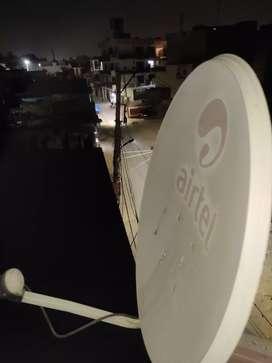 TV Samsung and airtel dish