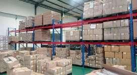 Rak Gudang Pallet Heavy Duty Kapasitas 1 Ton Perlevel Murah