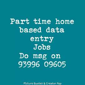 Urgent requirement for the data entry jobs