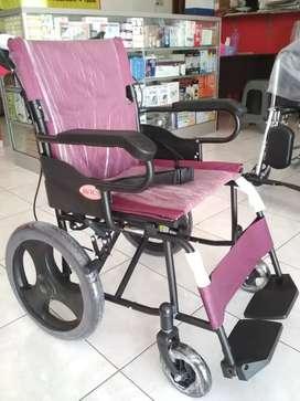 Kursi roda travelling ban kecil new