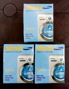 Washing machine tub  cleaning powder