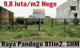 Dijual Tanah di Pandugo Surabaya