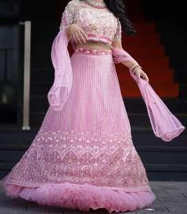 BRIDAL LEHANGA / WEDDINNG / ENGAGEMENT / RECEPTION