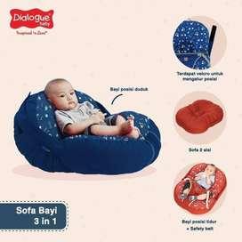 Dialogue Sofa Bayi 3 IN 1 DINO & PLANET series / sofa baby multifungsi