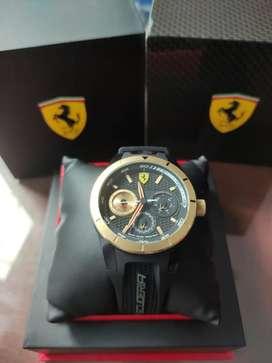 Jual> jam tangan Ferrari Scuderia, 100% original masih mulus