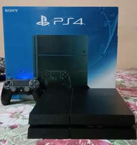 Ps4 1TB with last of us 2 complete accessories
