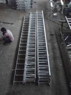 Cable Tray GI Hot Dip Powder Coated SS Ladder Perforated Duct Trunking