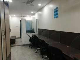 800 sft furnished office for rent in Somajiguda
