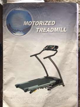Galaxy Sports Motorised Treadmill for immediate sale...very good codtn