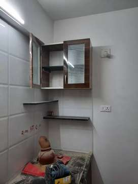 This property is located sargasan..this property is semi-furnish..