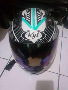 Helm KYT full face size L