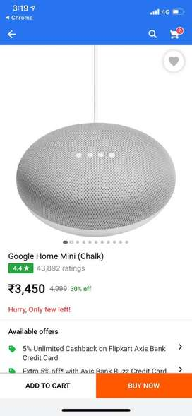 Google Home Mini (US Original) , brand new in box and never opened