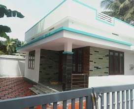 A NEW MODERN 2BED ROOM 900SQ FT 4CENTS HOUSE IN THIROOR,THRISSUR