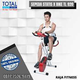 Sepeda statis fitness Magnetik X Bike TL920 Merek Total gym fitnes