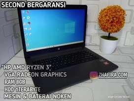HP RYZEN 3 ,NOKEN LENGKAP