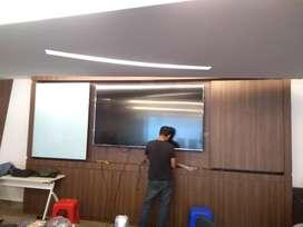 Bracket TV / Breket TV / Gantungan TV LED / LCD/UHD/Plasma Plus Pasang