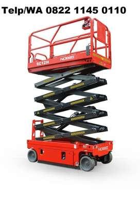 Tangga Scissor Lift Full Electric Mobile 12 Meter 14 meter 16 Meter