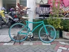 jual sepeda fixie bekas ngga terpakai