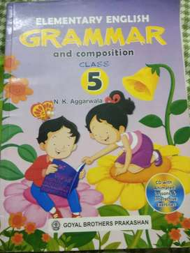 Elementary english grammar and composition class5