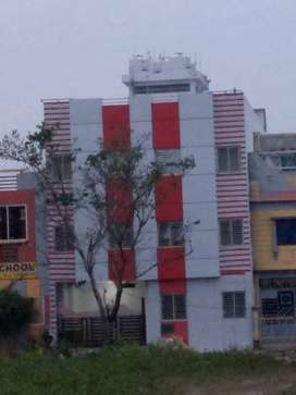 3 story building with huge accomodation,parking in 5600 sqft area.