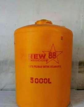 Tandon air 3000 liter bahan plastik pvc Karanganyar