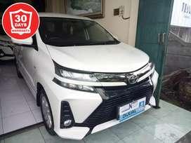 Lulus InspeksiAvanza 1.3 Veloz Automatic 2019 putih,asli Bali,istimewa