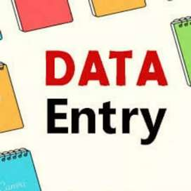 Data entry work simple English typing at home base job