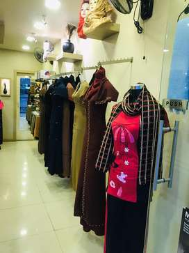 Fully furnished ladies shop for sale