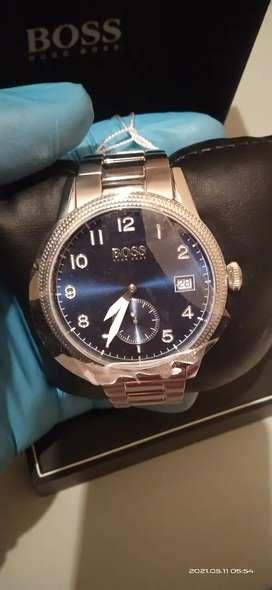 Hugo Boss Legacy 1513707 Men Blue Dial Stainless steel strap
