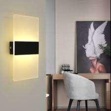 Lampu Dinding LED Modern Bentuk Kubus untuk Indoor Outdoor Kamar