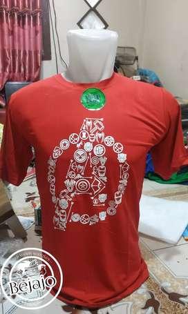 Kaos merah cabe HD58