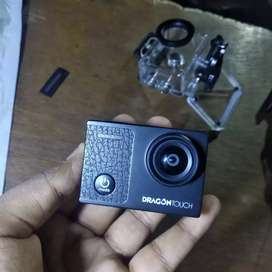 Dragon Touch Vision 3 Pro 4K30FPS Action Camera - Brand New