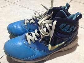 sepatu basket nike east original size 45 biru jual cepat aja murah BU