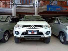 Mitsubishi Pajero 2.5 Sport Exceed At Thn 2014/15  Putih Pajak Setahun
