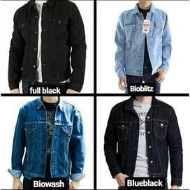 Jaket Jeans Levis Berbagai Warna Size Lengkap (Bisa COD)