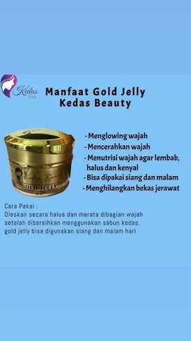 GOLD JELLY KEDAS BEAUTY
