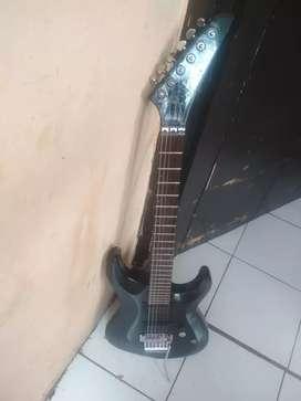 Gitar listrik Jakson Dinky costume bonus akustik syn