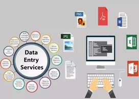 Data entry part time job work from home