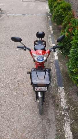Sepeda listrik merk indobike+cassan