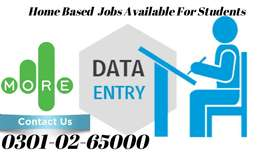 Data entry jobs for willing and unemployed person an  home base job ..