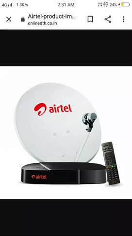 Airtel dth new connections