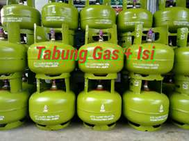 Tabung gas 3 kg Plus Isi Asli SNI PROMO